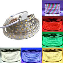 220V 240V Mains Voltage LED Strip Lights Rope Lights IP68 Waterproof  UK Plug High quality LED Tape